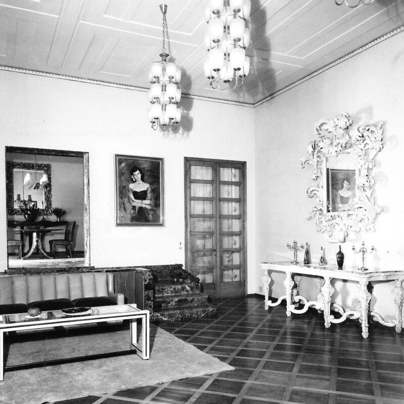 Villa Borsani a Varedo fotografata da Elio Luxardo 6