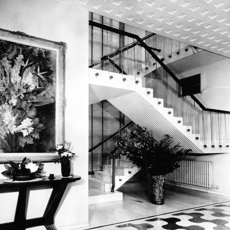 Villa Borsani a Varedo fotografata da Elio Luxardo 3