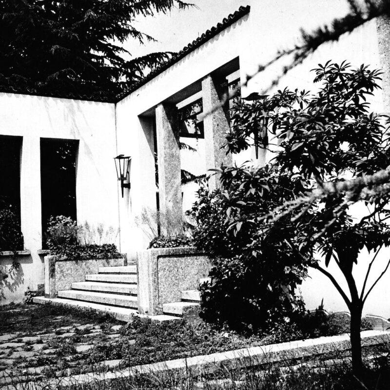 Villa Borsani a Varedo fotografata da Elio Luxardo