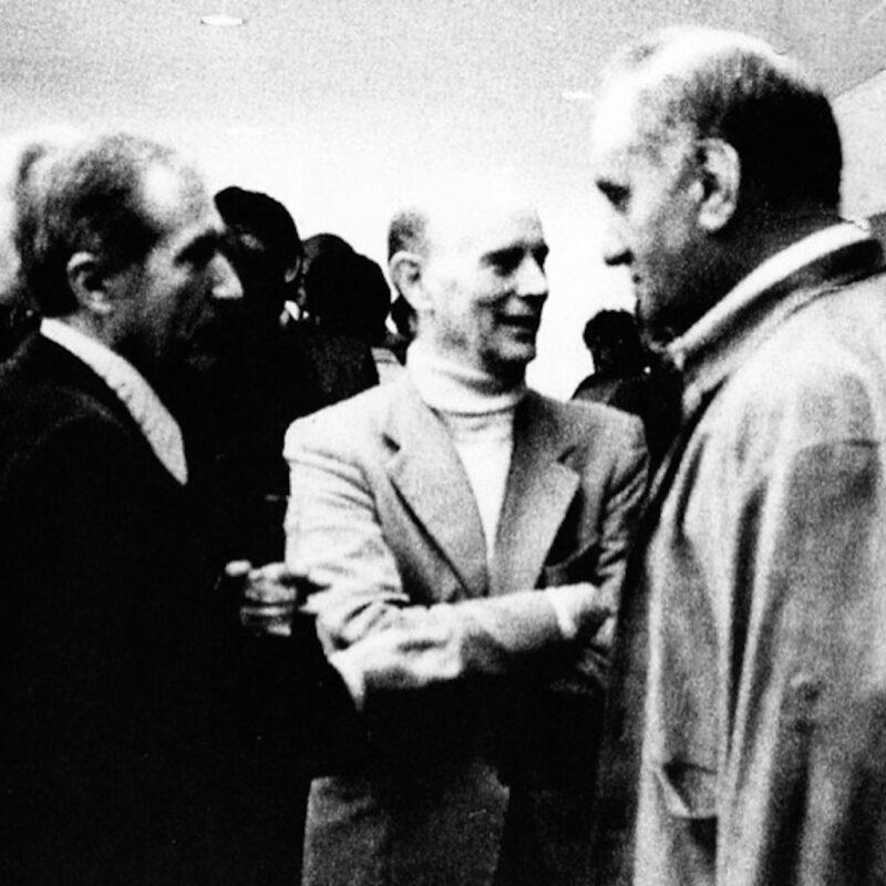 Alik Cavaliere, Guido Ballo e Carlo Mo