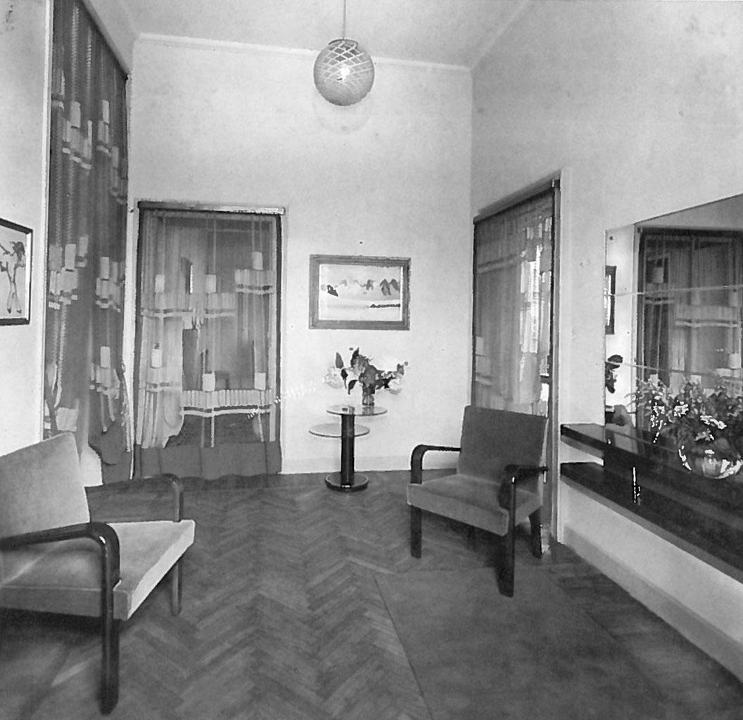 La casa g 1935 osvaldo borsani for La migliore casa progetta lo stile indiano