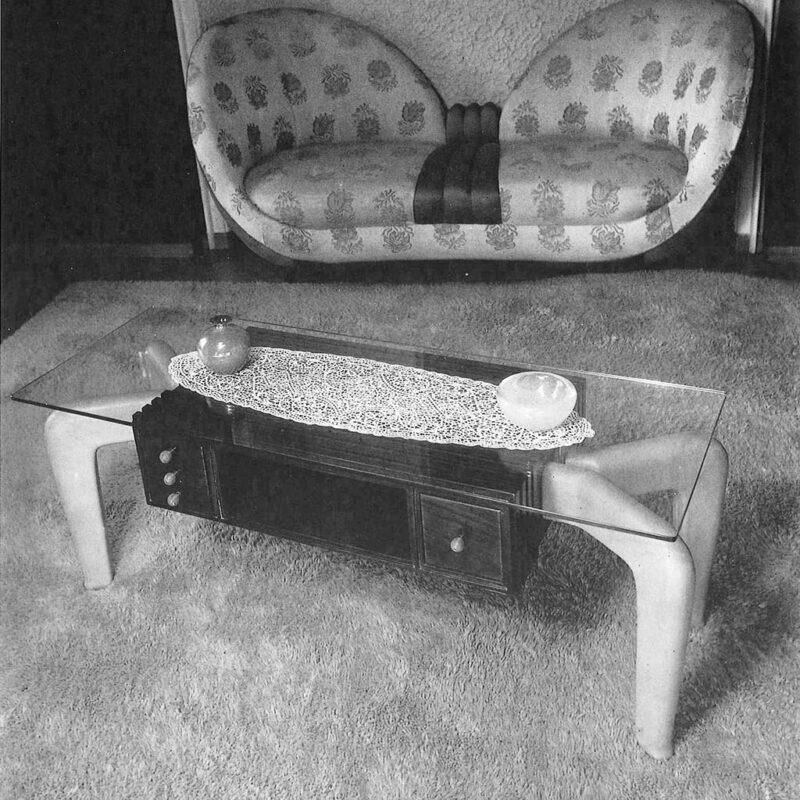 Casa M - Divano da conversazione e tavolino