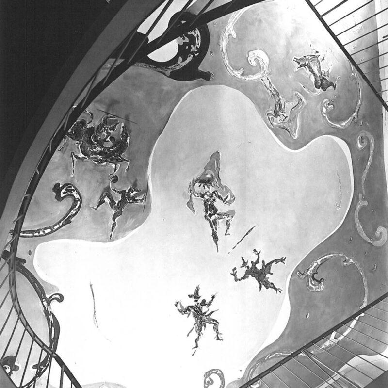 Casa N - Particolare del soffitto