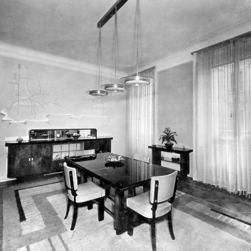 SALA DA PRANZO - 1933
