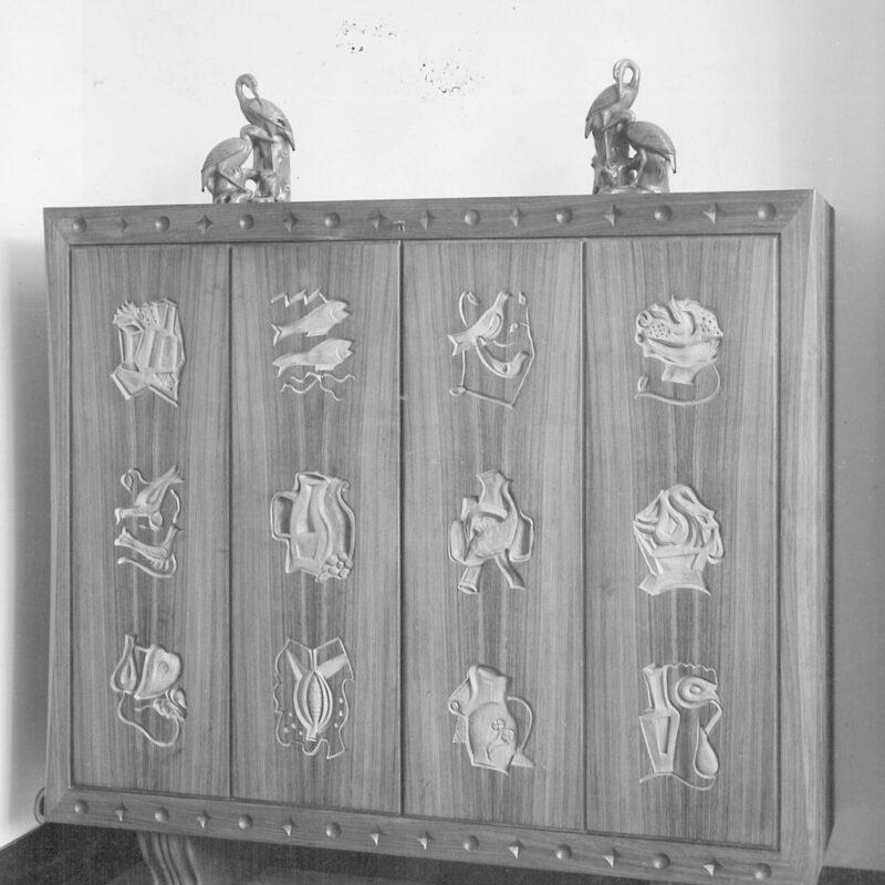 MOBILE CON DECORAZIONI - 1939