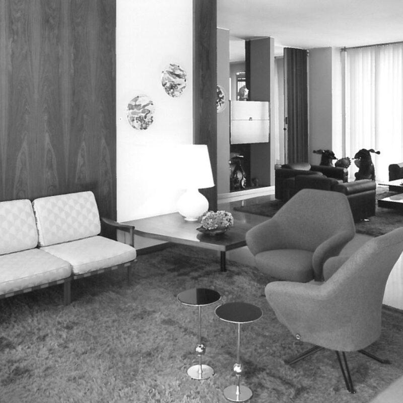 Casa Borsani - interno foto Mario Carrieri