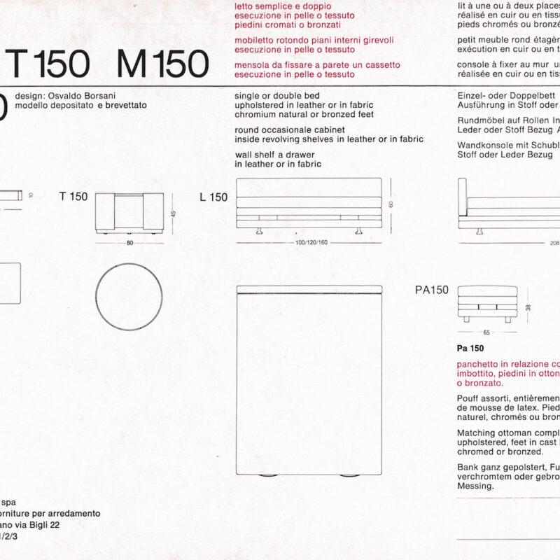 L150 - scheda tecnica