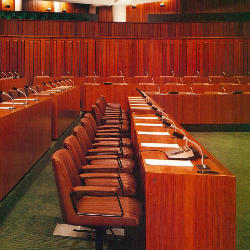 P125 - Aula del Consiglio Regione Lombardia