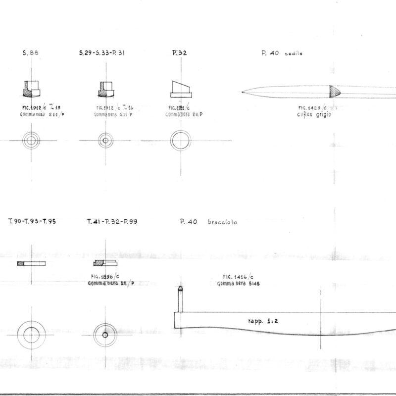 P40 - disegno tecnico