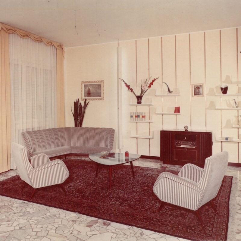 Samarelli. Soggiorno, 1958