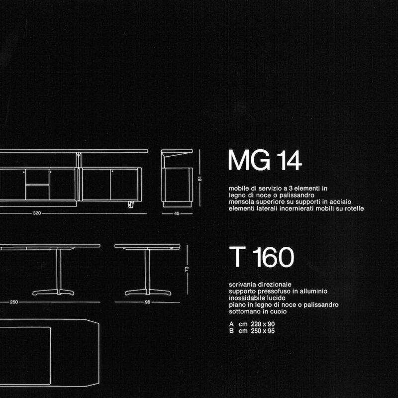 T160 / MG 14 - scheda
