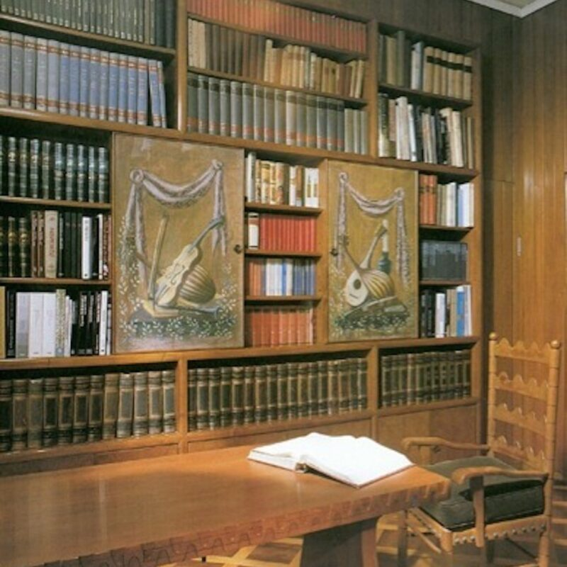 Villa Borsani - Biblioteca