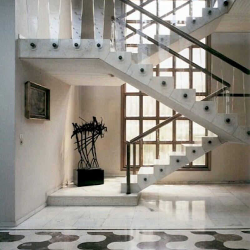 Villa Borsani - Scalone interno