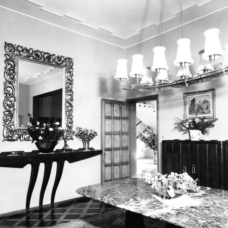 Villa Borsani fotografata da Elio Luxardo