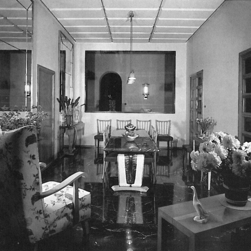 Villa Pesenti - Sala da pranzo