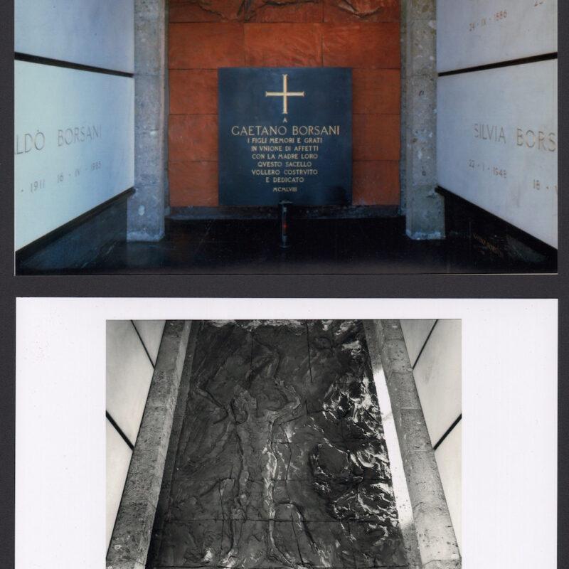 Cappella funeraria della famiglia Borsani al cimitero di Varedo