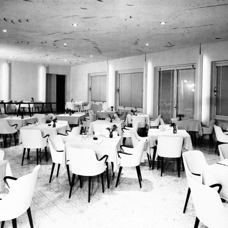 Hotel del Golfo, Procchio, Isola d'Elba, 1956