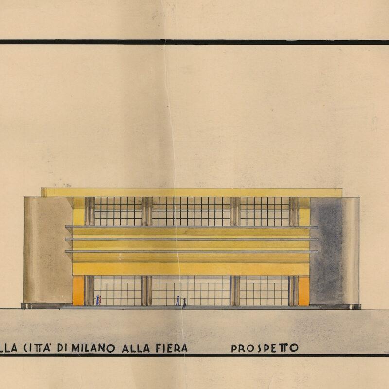 PADIGLIONE DELLA CITTA' DI MILANO - PROSPETTO