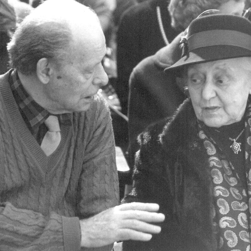 Agenore Fabbri e Alba Gianferrari