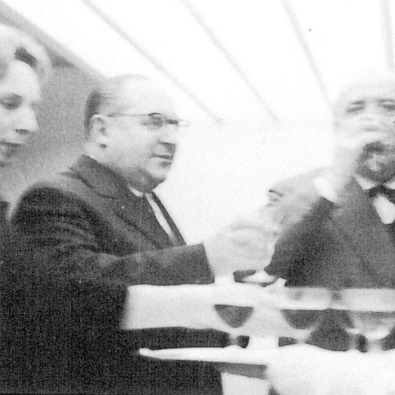 Alba Borsani, Achille Alocchio e Antonio Carminati