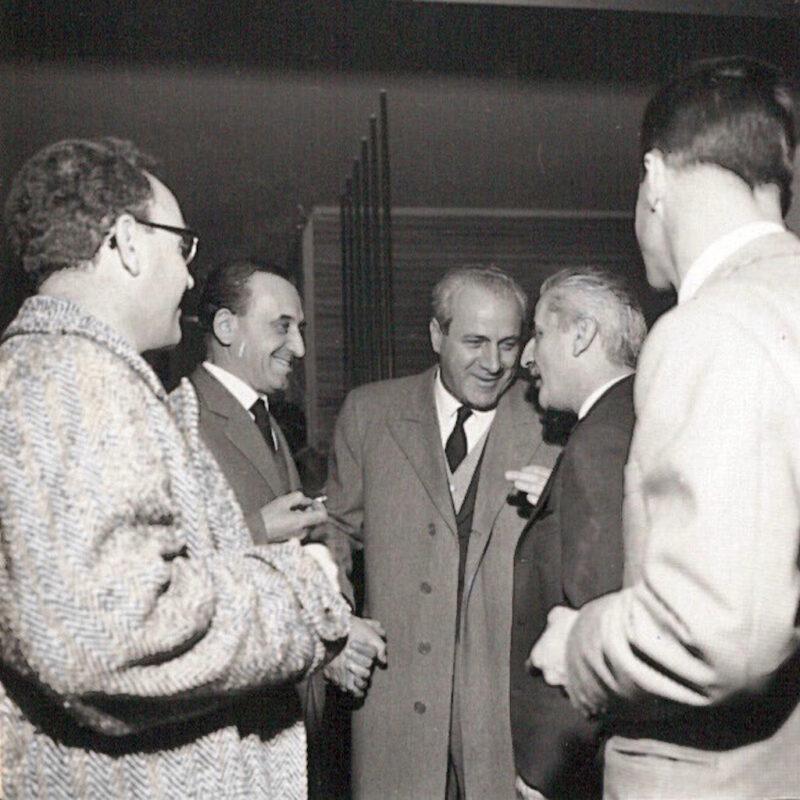 Carlo De Carli e Bruno Rovati