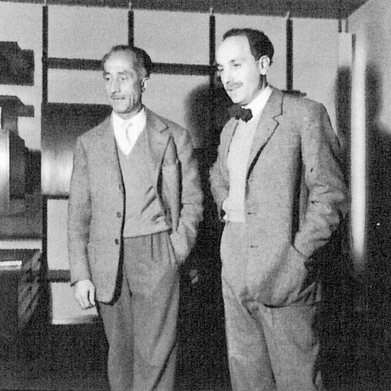 Eugenio Gerli e Bruno Sampellegrini