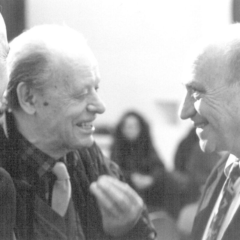 Marco Fantoni, Agenore Fabbri e Arnaldo Pomodoro