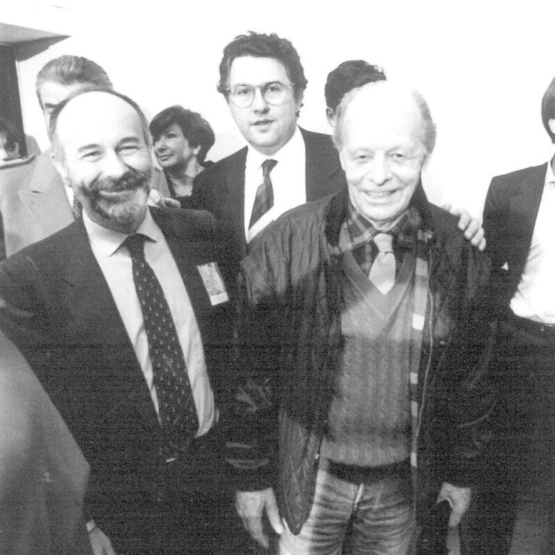 Marco Squarcini, Agenore Fabbri e Paolo Borsani