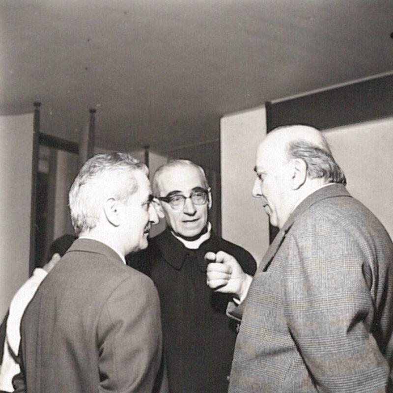 Monsignor Antonio Colombo, Antonio Carminati e Carlo DeCarli