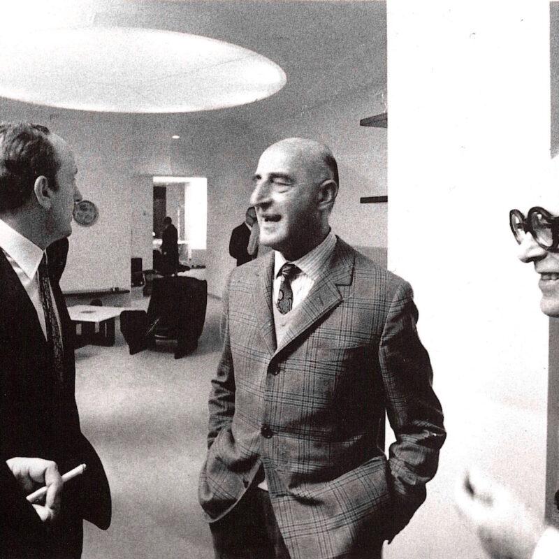 Osvaldo Borsani, Eugenio Gerli, Gillo Dorfles e Livio Castiglioni