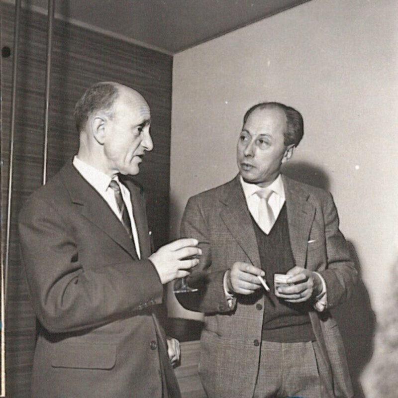 Osvaldo Borsani e Guido Ballo