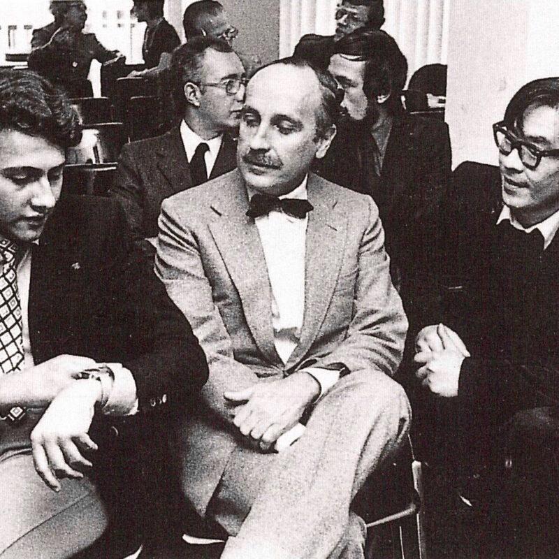 PAOLO BORSANI, EUGENIO GERLI E TORU KUGO