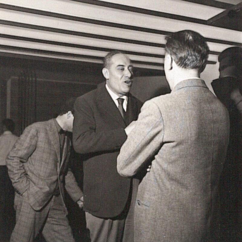 Piergiacomo Castiglioni e Osvaldo Borsani