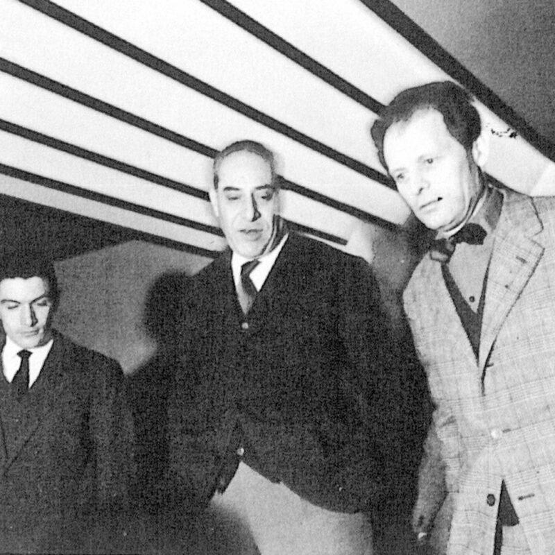 Sergio Mazza, Piergiacomo Castiglioni e Agenore Fabbri